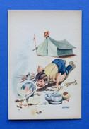 Cartolina Illustratori Corbella - Boy Scout (4) - 1940 Ca. - Unclassified