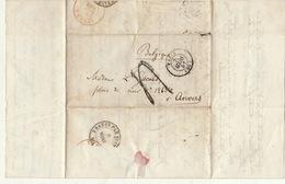 Lac Paris Anvers 1851 Pour Ministre Belge Jacobs - Marcofilie (Brieven)