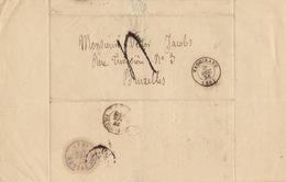 Lac Vaugirard Bruxelles Pour Ministre Belge Jacobs - Marcophilie (Lettres)