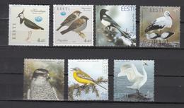 Estonia 2001,2,3,4,5,6,7,7V,birds,vogels,vögel,oiseaux,pajaros,uccelli,aves,MNH/Postfris,(A3470) - Zonder Classificatie