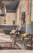 MAROC  Lot De 2 CPA - Rabat  Architecture -Intérieur Maison Marocaine + Patio D'un Palais Arabe  . Voir 2 SCANS - Rabat