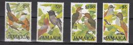 Jamaica 1986,4V In Set,birds,vogels,vögel,oiseaux,pajaros,uccelli,aves,MNH/Postfris,(A3472) - Zonder Classificatie