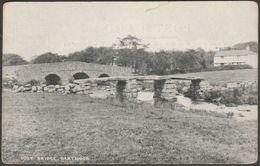 Post Bridge, Dartmoor, Devon, C.1910 - Chapman Postcard - England