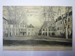 NAVARRENX  :  Entrée De La Ville Et Intérieur Des Fortifications   1908   XXX - Autres Communes
