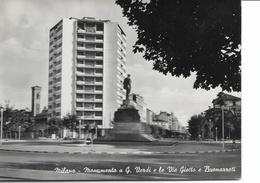 MILANO - MONUMENTO G.VERDI VIA GIOTTO E BUONARROTI- VIAGGIATA - NO FRANCOBOLLO - Milano (Milan)