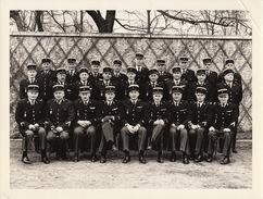 Grande Photo Gendarmerie Nationale Francaise Brigade De Recherches Fort De Charenton En 1963 - Guerre, Militaire