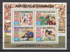 Gabon Soccer Football USA 1994 Mi Bl#77 MNH - 1994 – USA