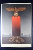 Deutsche Reich Postkarte Reichspartijtag Nürnber 1936  -> Kiel - Germany