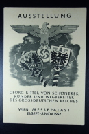 Deutsche Reich Postkarte Ausstellung Wien 1942 Messepalast - Deutschland