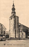 BELGIQUE - LIMBOURG - SINT-TRUIDEN - SAINT-TROND - Eglise Du Déminaire Et Ancien Portail. - Sint-Truiden
