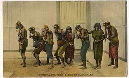 Frontera Del Peru . Bailes De Naturales  Edit Oechsle No 31 Nice Stamp  P. Used To Cuba - Pérou