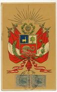 Republica Peruana Escudo P. Used  Cuba  Edicion Luis Sablich Callao Relieve Embossed Gaufrée - Pérou