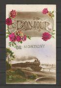 Carte Ancienne - Montigny-le-Tilleul