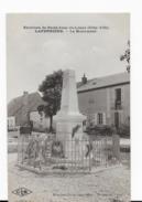 21   ENVIRONS DE SAINT  JEAN DE LOSNE  LAPERRIERE   LE    MONUMENT AUX MORTS  TRES BON ETAT   2 SCANS - France