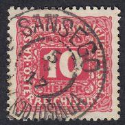 AUSTRIA -  OSTERREICH - 1916 - Yvert Segnatasse 50 Obliterato Con Timbro Di Sansego - Segnatasse