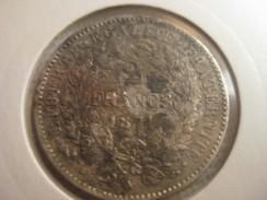 France 2 Francs 1871 A - Francia