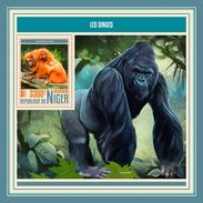 Niger. 2017 Monkeys. (507b) - Gorilles