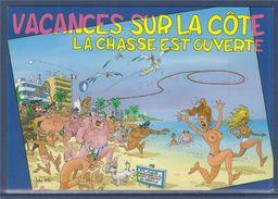 = Salut De La Méditerranée, Vacances Sur La Côte, La Chasse Est Ouverte - Souvenir De...