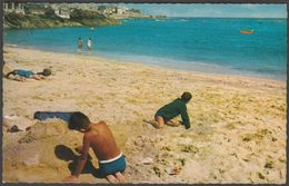 Porthminster Beach, St Ives, Cornwall, C.1960s - Constance Postcard - St.Ives