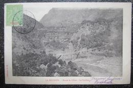 Ile Reunion Route Cilaos Le Pavillon  Cpa Timbrée Reunion - La Réunion