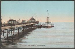 Pier Head, Boscombe, Hampshire, C.1910 - ETW Dennis Postcard - England