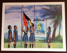 Antigua 1981 Girl Guides Minisheet MNH - Antigua E Barbuda (1981-...)