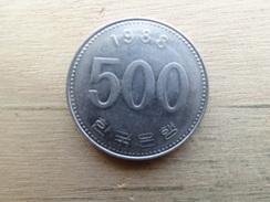 Koree  Du Sud  500  Won  1988  Km 27 - Korea, South