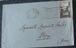 No 742  Seul Sur Lettre - Postmark Collection (Covers)