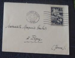 No 669  Seul Sur Lettre - Postmark Collection (Covers)