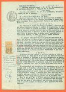 """92 Fontenay Aux Roses """" Acte Notarié Bail 1946 """" Timbre Fiscal De Dimension - 2 Scans - VPAN 4 - Ohne Zuordnung"""