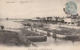 CPA 13  PORT DE BOUC LE QUARTIER DU CANAL 1904 - France