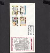 MONTSERRAT  1979 - Yvert  407/10 - FDC - U.P.U. - Montserrat