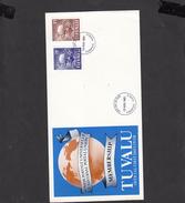 TUVALU  1981 - Yvert 161/62 - FDC - Stemma U.P.U. - Tuvalu