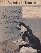 Revue L'Assiette Au Beurre N°276 14 Juillet 1906 Les Petits Brevets Supérieurs Par Guydo Ecole Art Nouveau Caricature - 1900 - 1949