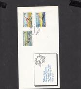 FALKLAND IS. - Yvert 290/92 - FDC - Centenario U.P.U. - Falkland