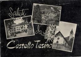 Saluti Da CASTELLO TESINO  (TRENTO) - 3 Vedute - Trento