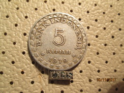 INDONESIA 5 Rupiah 1979  # 4 - Indonesia