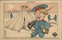 MILITARIA - Prince Louis Napoléon - La Sentinelle - Dessin De Ferco - Pipe - Militaria