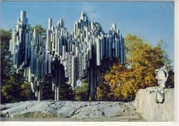 HELSINKI HELSINGFORS SIBELIUS MONUMENTTI - Monuments
