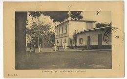 Dahomey 40 Porto Novo Une Place Edit H.R. Timbrée Porto Novo - Dahomey