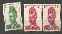 CAMEROUN - Yv. N°166,167  * 10c,15c,20c Cote 0,8 Euro BE 2 Scans - Cameroun (1915-1959)