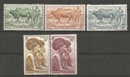 CAMEROUN - Yv. N° 276 à 280  *  10c à 60c Cote  1,4 Euro  BE R 2 Scans - Cameroun (1915-1959)