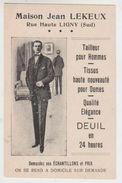 Carte Publicitaire Ligny - Sombreffe