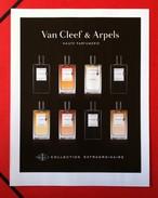 Van Cleef & Arpels - Publicité - Collection Extraordinaire - Perfume Cards