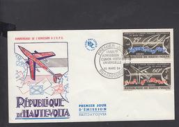 ALTO VOLTA  1964 - FDC - Yvert 133/4 - Annullo Speciale U.P.U. - Alto Volta (1958-1984)
