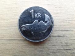 Islande  1  Krona  1999  Km 27 - Iceland