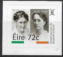 2016 Irland  Mi. 2189 **MNH    Kathleen Lynn , Chefärztin Während Des Aufstandes; Elizabeth O'Farrell - Neufs
