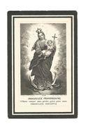 P 330. Z.E.P. POLYDORIS VERCRUYSSE - °LOOCHRISTI 1867 / Minderbroeder / + CHINA (King-chow-fu) 1927 - Images Religieuses