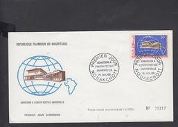 MAURITANIA 1968 - FDC - Yvert  251 - Annullo Speciale U.P.U. - Mauritania (1960-...)