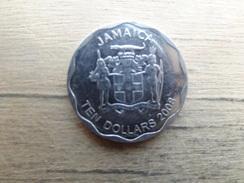 Jamaique  10  Dollars  2008  Km 190 - Jamaica